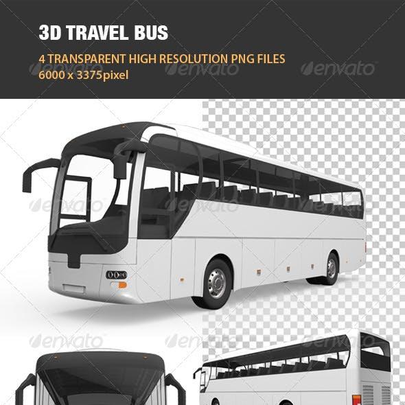 3D Travel Bus