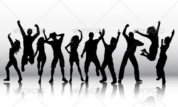 People dancing - People Characters