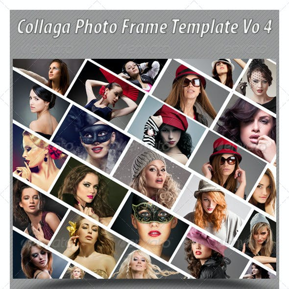 Collaga Photo Template Vo 4