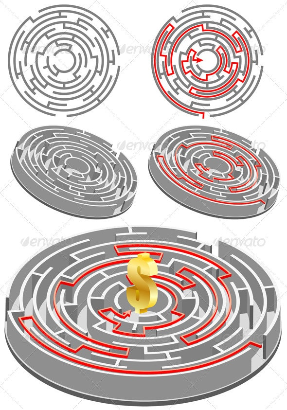 Circular Labyrinth - Concepts Business