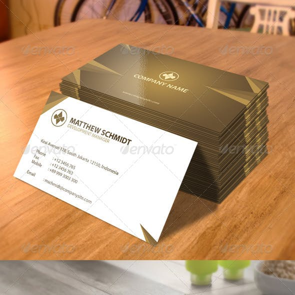 Business Card - Corporate
