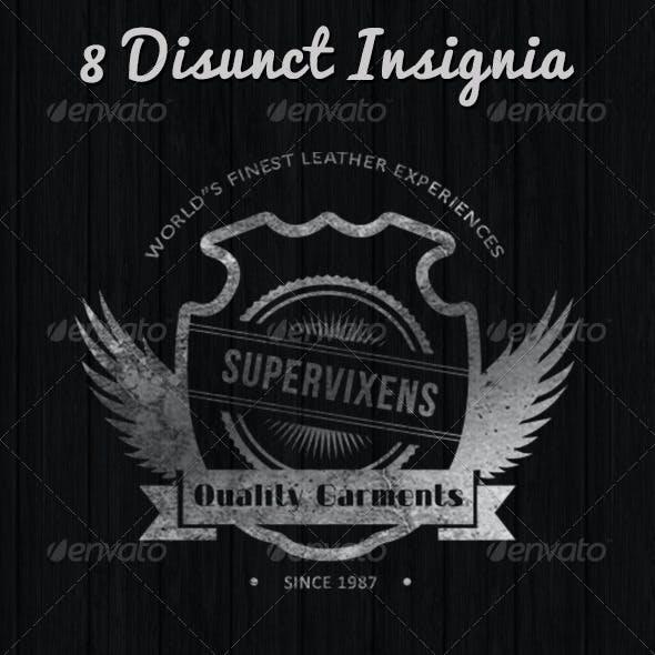 08 Distinct Insignia Design Collection