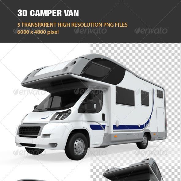 3D Camper Van