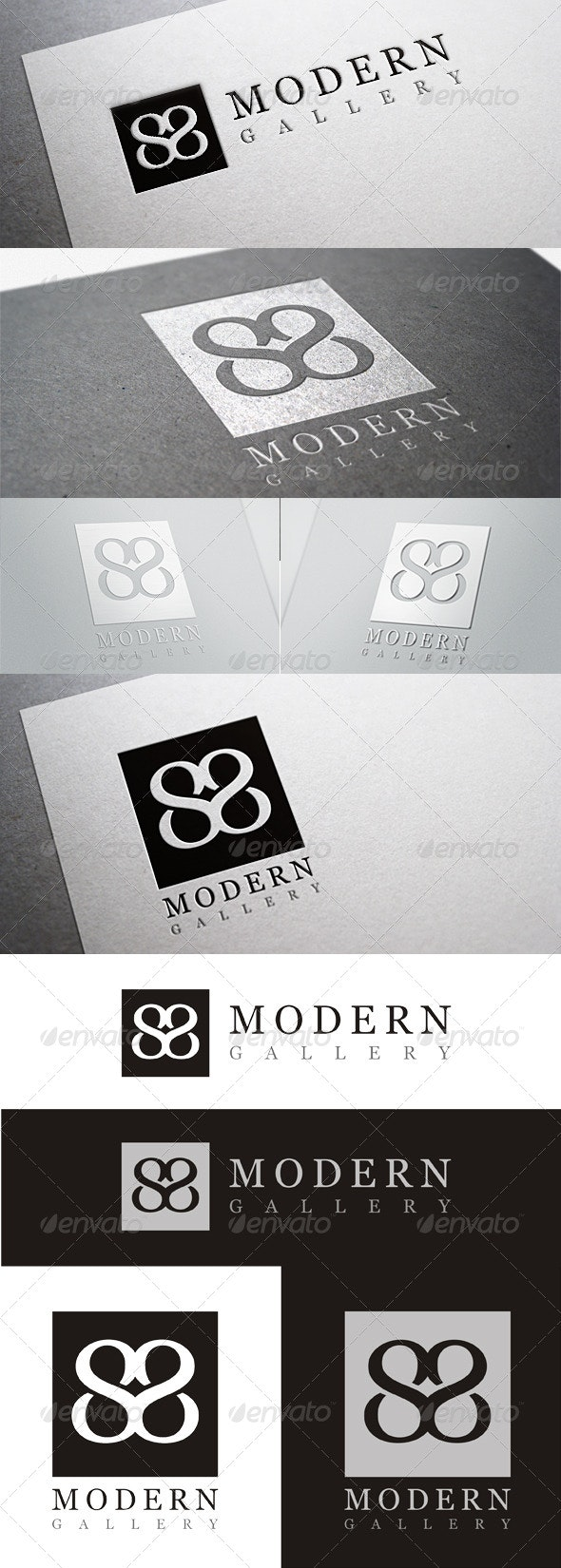 Modern Gallery 1 - Vector Abstract