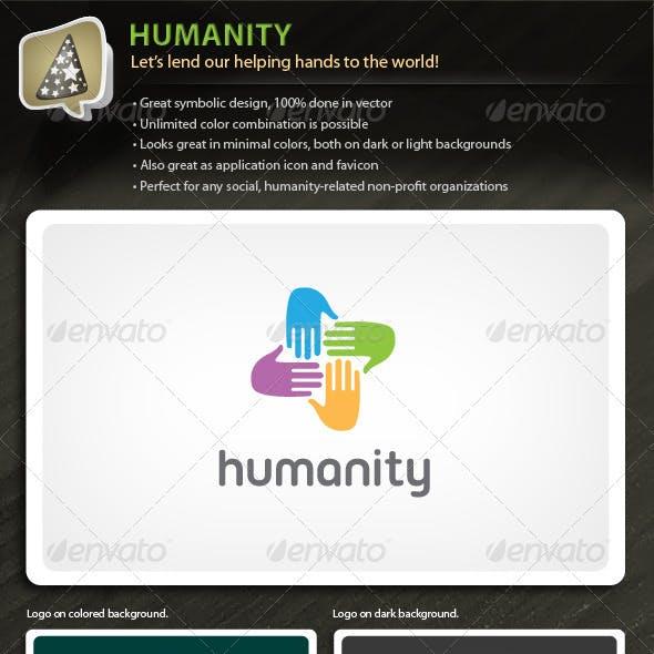 Humanity - Logo For Social Non-profit Organization