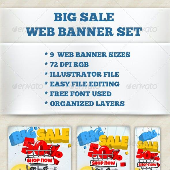 Big Sale Web Banner