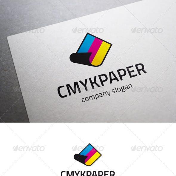 CMYK Paper Logo