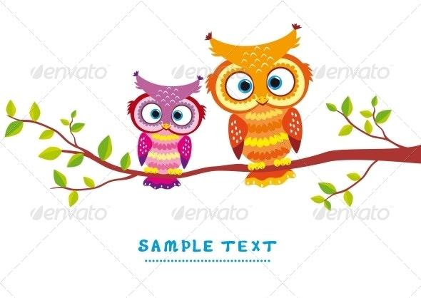 Bird Couple - Animals Characters