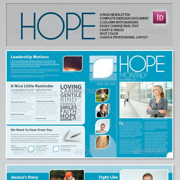 Hope - Clean Professional Newsletter