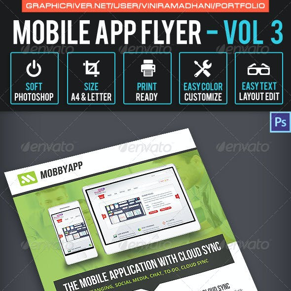 Mobile App Flyer | Volume 3
