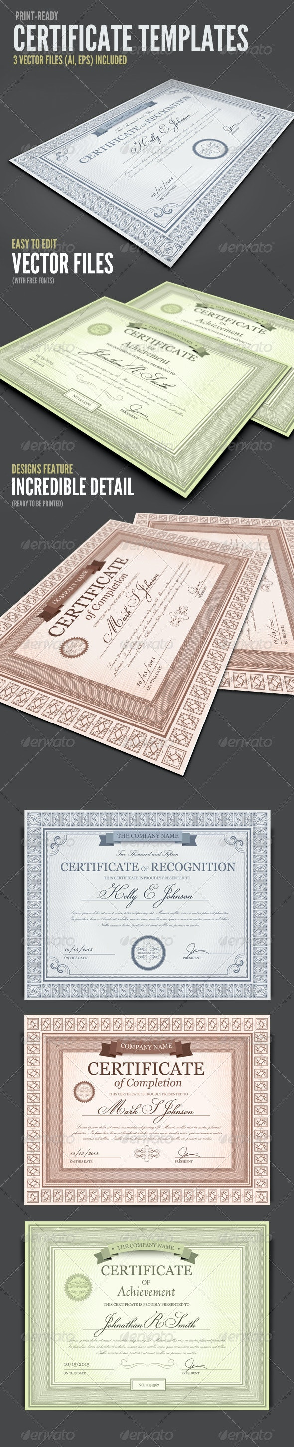 Certificate Templates - Certificates Stationery