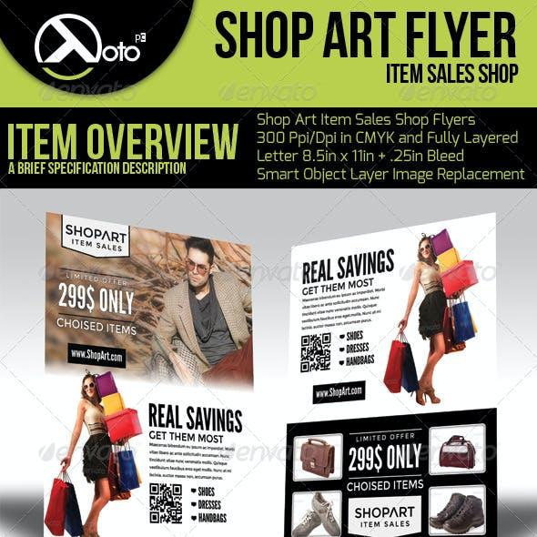 ShopArt Online Shopping Flyers