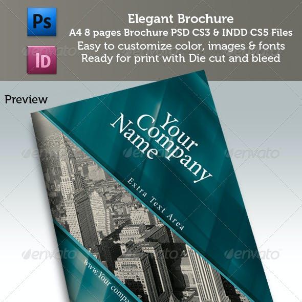 A4 Elegant Booklet 8 Pages