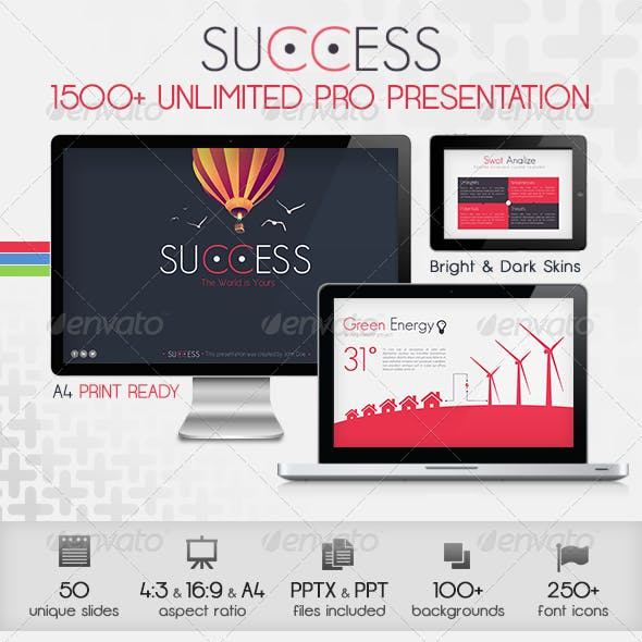 Success Powerpoint Presentation Template