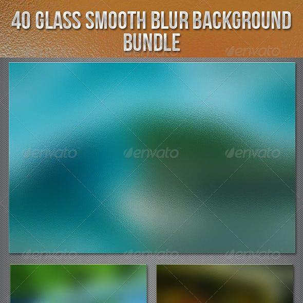 40 Glass Smooth Blur Background Bundle
