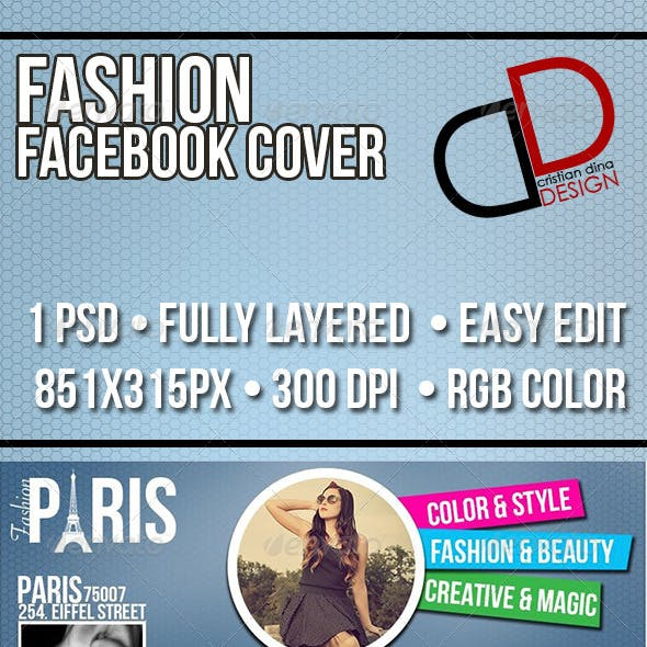 Fashion Facebook Timeline Cover