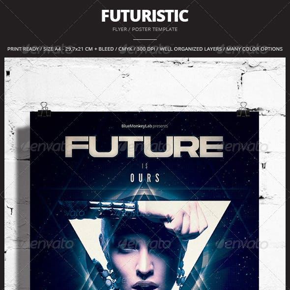 Futuristic Flyer / Poster 5