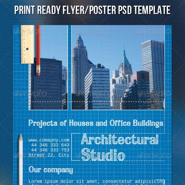 Blueprint Architect Flyer