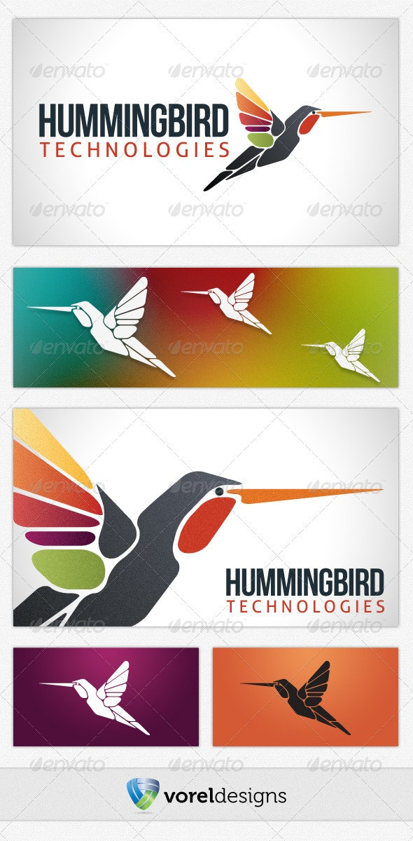 Hummingbird Technologies - Animals Logo Templates