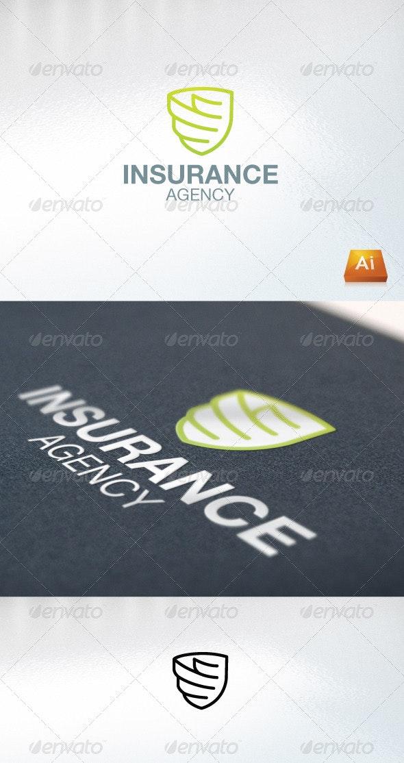 Insurance Agency - Humans Logo Templates