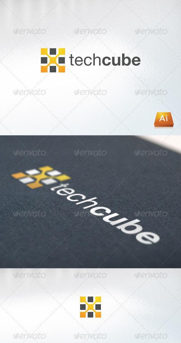 techcube - Abstract Logo Templates