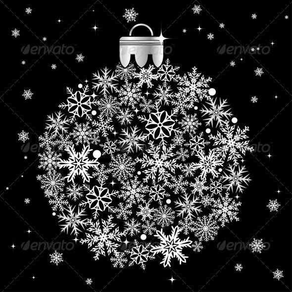Christmas bauble - Christmas Seasons/Holidays