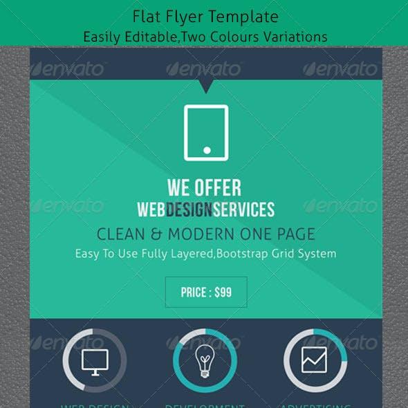 Flat Flyer Design