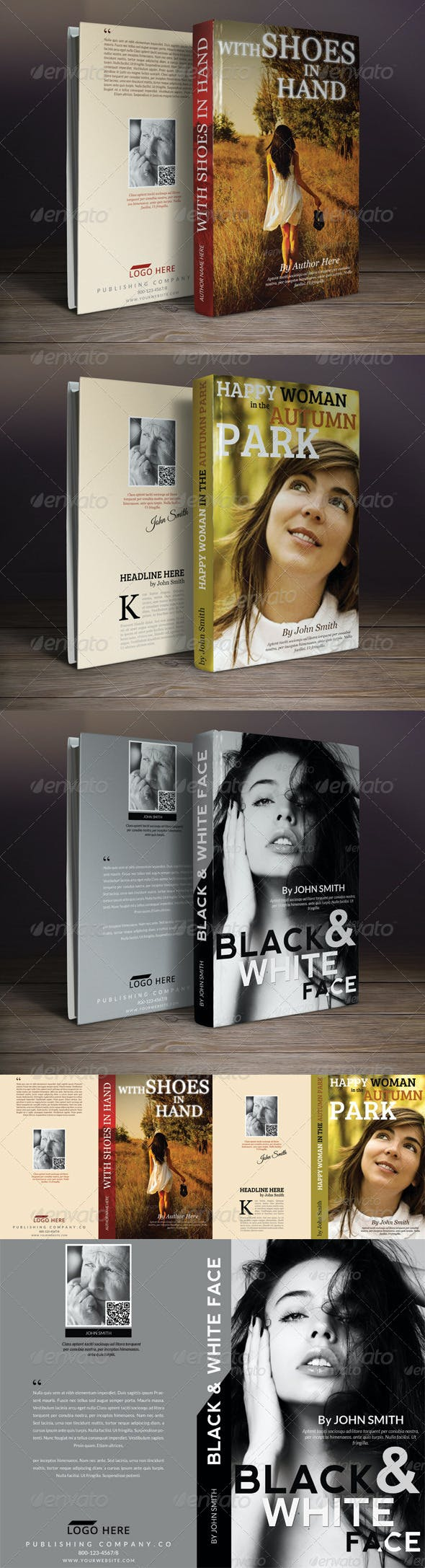 Book Cover Templates Bundle