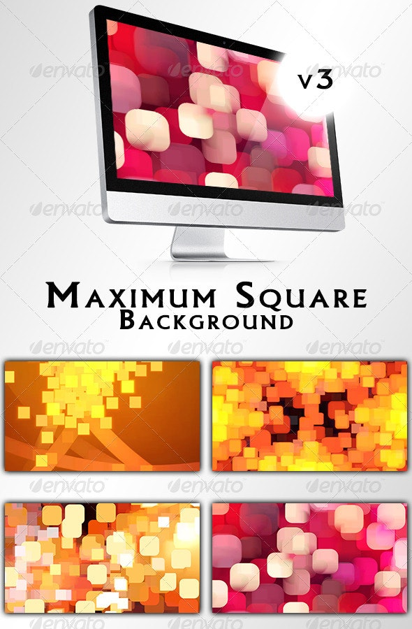 Maximum Square Backgrounds v3 - Abstract Backgrounds
