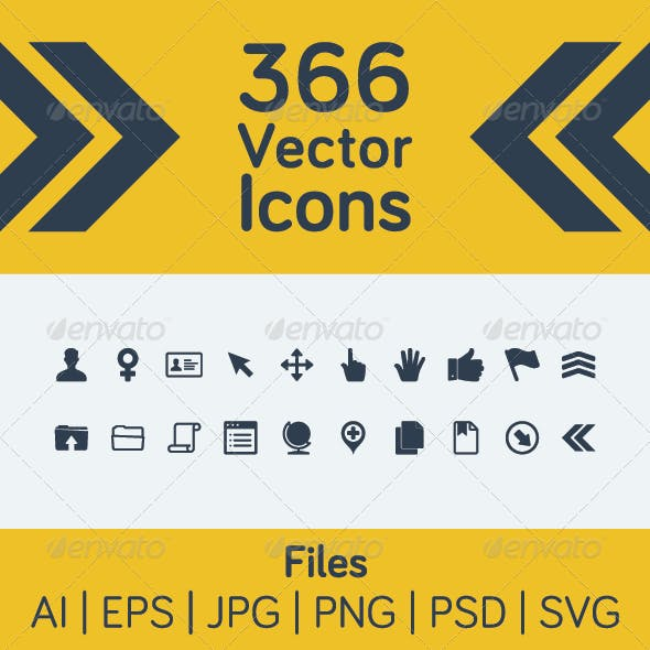 366 Vector Icons