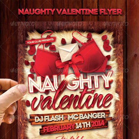 Naughty Valentine Flyer