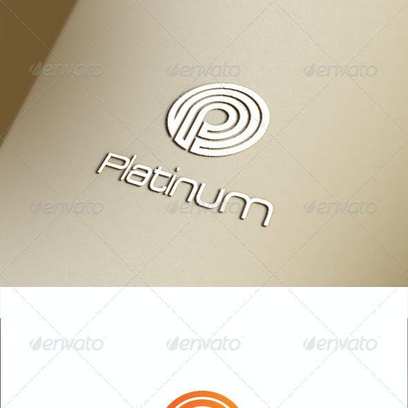 P Letter Logo Template.