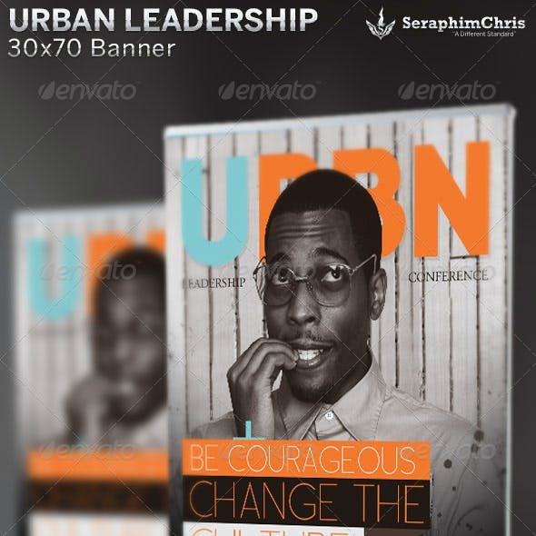 Urban Leadership Conference: Banner Template