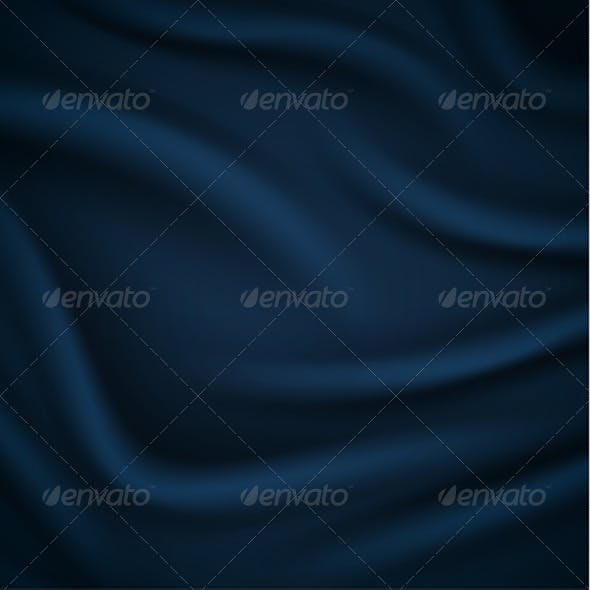 Smooth Blue Silky Background