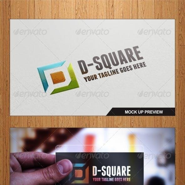 D-Square Logo