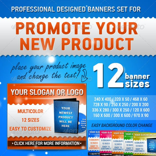 Marketing Banners Set - Google AdWords Ready