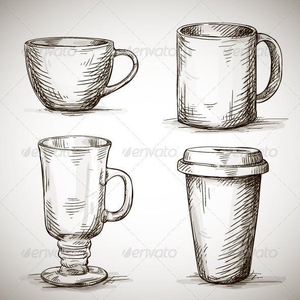 Set of Coffee Mugs