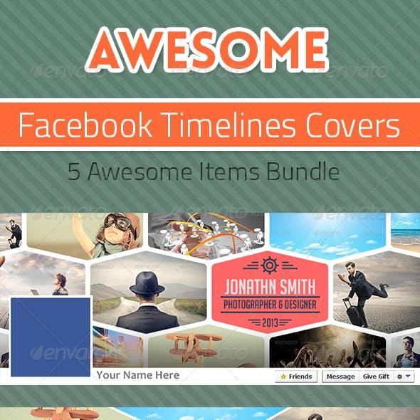 Bundle - Facebook Timelines Covers