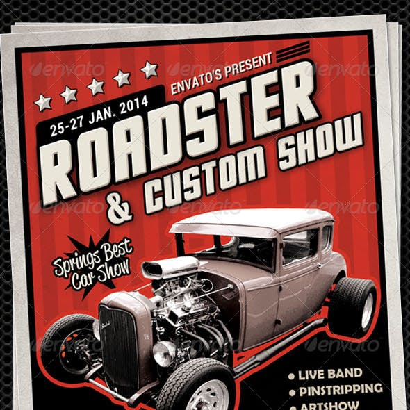 Autoshow Flyer Template