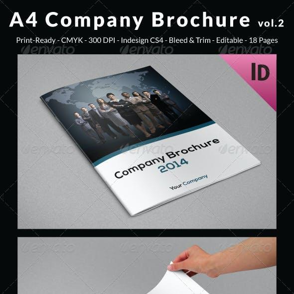 A4 Company Brochure vol.2
