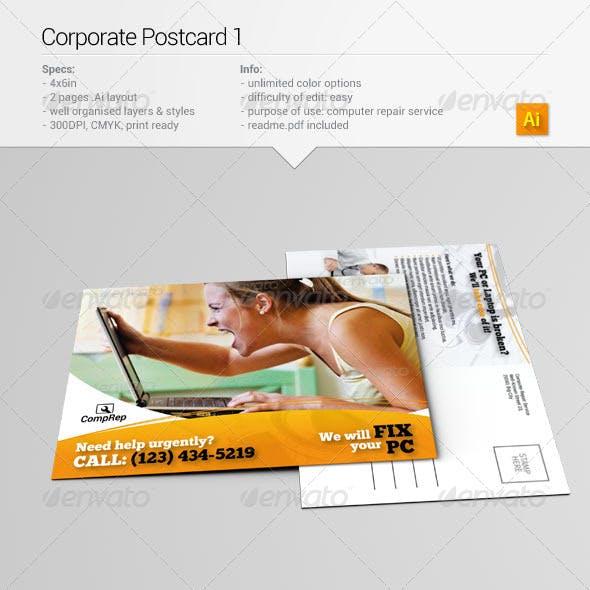 Corporate Postcard 1