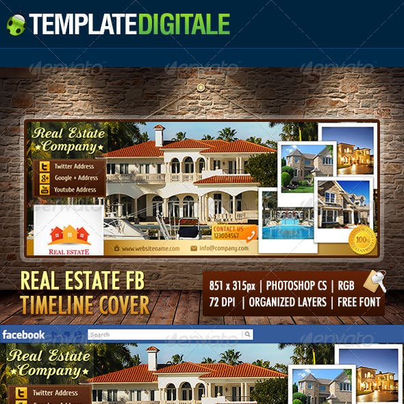 Real Estate Facebook Timeline