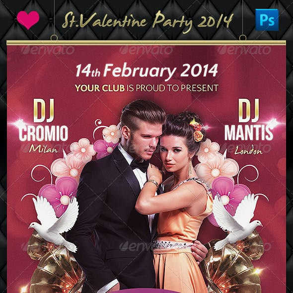 St. Valentine Day Party 2014