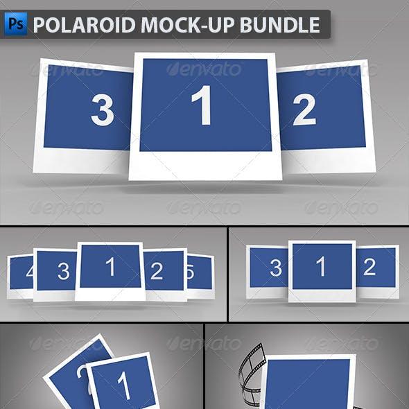 Polaroid Mock-up Bundle