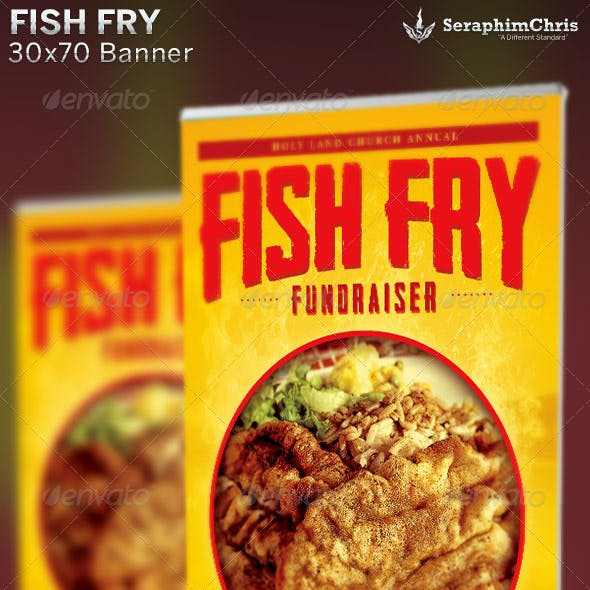 Fish Fry: Banner Template