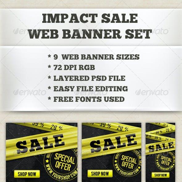 Impact Sale Banner