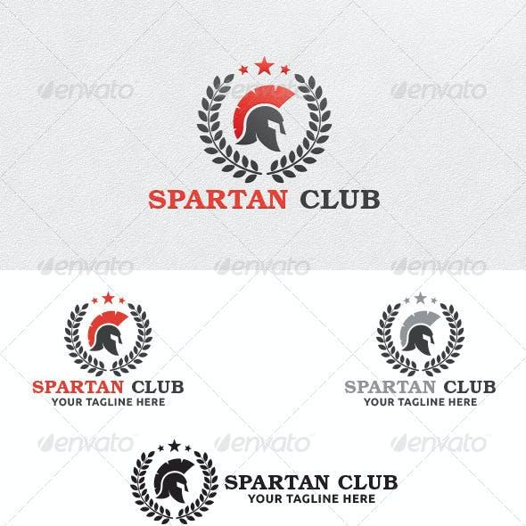 Spartan Club - Logo Template