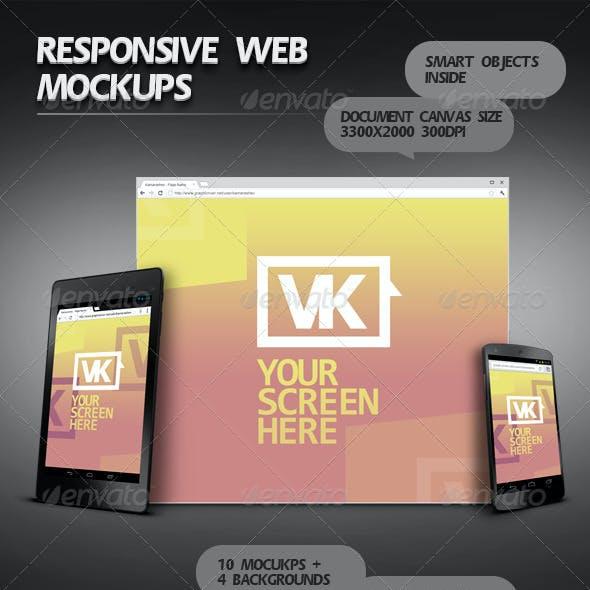 Responsive Web Mockups