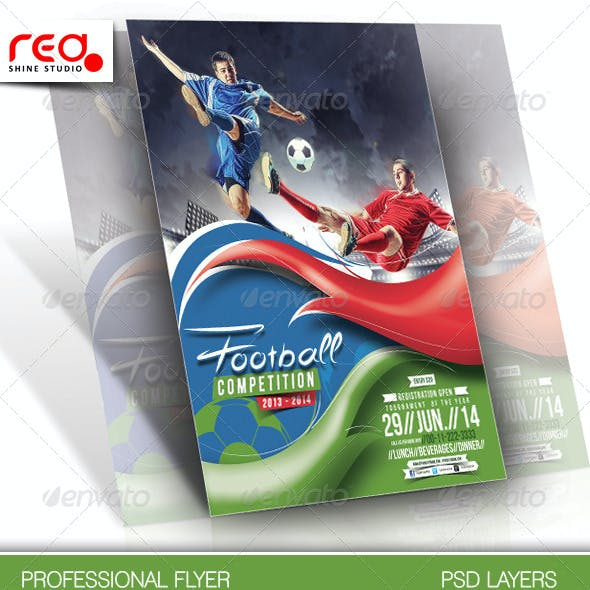Football Competitions Flyer Template