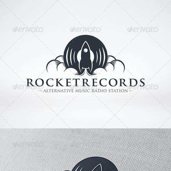 Rocket Records Logo Template